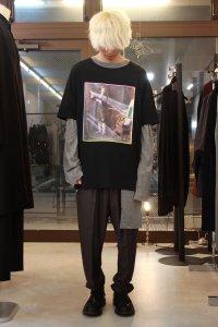 ANREALAGE [アンリアレイジ] NEWTON TEE SHIRTS <ニュートンTシャツ> ブラック