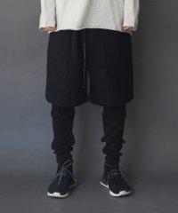 Wizzard [ウィザード] LAYERED PANTS<レイヤードパンツ> ブラック