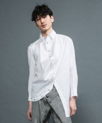 <img class='new_mark_img1' src='https://img.shop-pro.jp/img/new/icons2.gif' style='border:none;display:inline;margin:0px;padding:0px;width:auto;' />ANREALAGE [アンリアレイジ] BALL SHIRTS <ボールシャツ(2019SS)> ホワイト