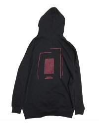 <img class='new_mark_img1' src='//img.shop-pro.jp/img/new/icons2.gif' style='border:none;display:inline;margin:0px;padding:0px;width:auto;' />JieDa [ジエダ] CREATIVE MANUFACTURE GRAPHIC HOODIE <プルオーバーパーカー(2019SS)> ブラック×レッド