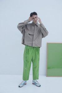 【2019SS予約】JieDa [ジエダ] TRENCH SHIRT <トレンチシャツ(2019SS)> ベージュ