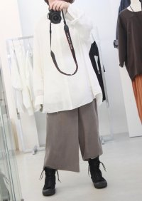 N.HOOLYWOOD [エヌハリウッド] COLLECTION LINE CHIFFON LAYERED PANTS <コレクションライン シフォンレイヤードパンツ> ベージュ