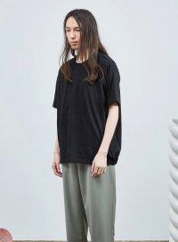 Dulcamara [ドゥルカマラ] バルーンTシャツ <2019春夏 UNISEX> ブラック