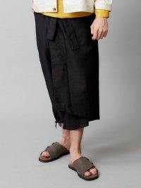 TROVE [トローヴ] TREMOR PANTS <変形ラップパンツ> ブラック
