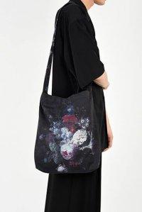 LAD MUSICIAN [ラッドミュージシャン] FLOWER BAG <フラワーバッグ> 2319-931 ダーク×ブラック
