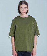 【2019AW 先行予約】 VICTIM [ヴィクティム] VTM-19-T-112 / DAMEGE TEE <ダメージTシャツ> 4色展開