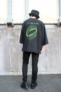 JieDa [ジエダ] × FRUIT OF THE LOOM CIRCLE T-SHIRT <フルーツオブザルーム サークルTシャツ> Jie-20S-CT05 ブラック