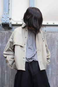 <img class='new_mark_img1' src='https://img.shop-pro.jp/img/new/icons2.gif' style='border:none;display:inline;margin:0px;padding:0px;width:auto;' />JieDa [ジエダ] WIDE TRENCH SHIRT <ワイドトレンチシャツ> 2020SS Jie-20S-SH01 ベージュ