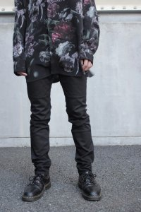 Wizzard [ウィザード] MOTORCYCLE SKINNY PANTS <モーターサイクルスキニーパンツ> WDH20-096 ブラック