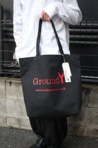 <img class='new_mark_img1' src='https://img.shop-pro.jp/img/new/icons2.gif' style='border:none;display:inline;margin:0px;padding:0px;width:auto;' />【ラスト1点】Ground Y Yohji Yamamoto [グラウンドワイ ヨウジヤマモト] ロゴトートバッグ GA-I02-094-2S20 2色展開(ブラック×ホワイト・ブラック×レッド)