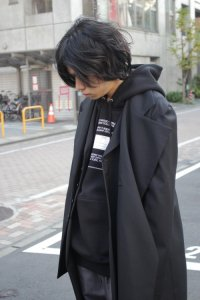 <img class='new_mark_img1' src='https://img.shop-pro.jp/img/new/icons2.gif' style='border:none;display:inline;margin:0px;padding:0px;width:auto;' />Ground Y Yohji Yamamoto [グラウンドワイ ヨウジヤマモト] Asymmetry Jacket <アシンメトリージャケット> GA-J01-100 ブラック