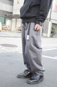 <img class='new_mark_img1' src='https://img.shop-pro.jp/img/new/icons2.gif' style='border:none;display:inline;margin:0px;padding:0px;width:auto;' />N.HOOLYWOOD × Dickies [エヌハリウッド×ディッキーズ] COMPILE LINE WIDE TAPERED PANTS <ワイドテーパードパンツ> グレー