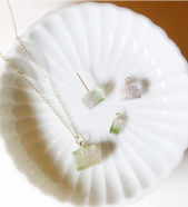 Garden of Eden / Gemstone Necklace (トルマリン)# SILVER