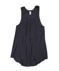 Wizzard / NET LONG TANK TOP<ネットロングタンクトップ> # チャコールグレー