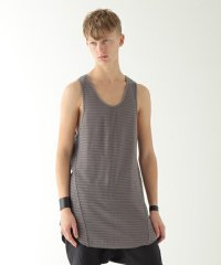Wizzard / NET LONG TANK TOP<ネットロングタンクトップ> # ダストベージュ
