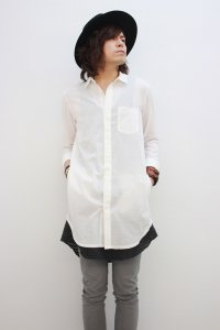 Wizzard / LONG SHIRT<ロングシャツ> # オフホワイト