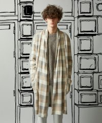 【2015AW 先行予約】 TROVE / KANGAS GOWN<ロングチェックカーディガン> # 2色展開