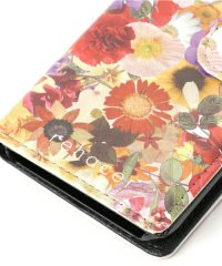 rehacer [レアセル] Flower Mobile Book Case for iPhone 7<フラワーモバイルブックケース アイフォン7> #フラワー