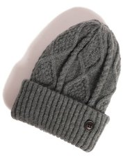 glamb / Wilken knit cap<ウィルケンニットキャップ> # グレー