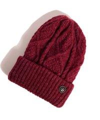glamb / Wilken knit cap<ウィルケンニットキャップ> # ボルドー(レッド)
