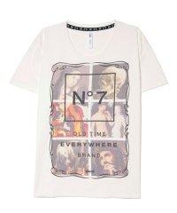 glamb / �7 T<�7 Tシャツ> #ホワイト