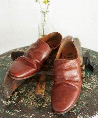 【2016SUMMER 先行予約】 glamb / Jenny shoes<レザーシューズ> #ブラウン