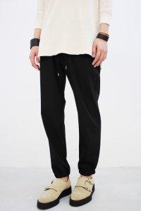 VICTIM[ヴィクティム] STRETCH RIB PANTS<ストレッチリブパンツ> #ブラック