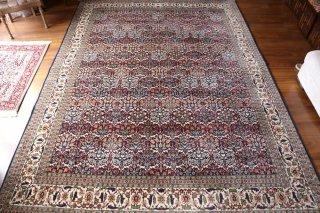 オールド絨毯 最高級トルコ絨毯ヘレケ シュメル テブリーズ柄 大判7.5平米