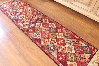 ペルシャ(イラン)キリム 可愛いスマック織り 約200x50cm