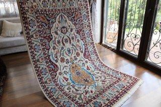 オールド絨毯 ヘレケ絨毯(シュメル) サライカンディリ 宮殿のシャンデリア
