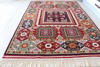 コレクショントルコ絨毯 草木染一級品 チャナッカレ 175x120cm