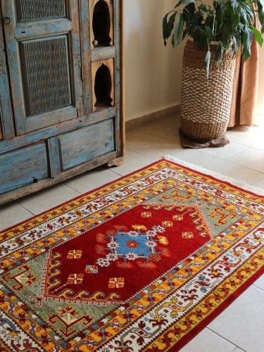 コレクショントルコ絨毯 草木染一級品 ミラス 158x105cm