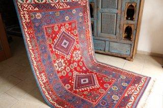 コレクショントルコ絨毯 草木染一級品 チャナッカレ 210x124cm
