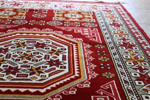 コレクショントルコ絨毯 草木染一級品 バルケシール ホルビン 175x115cm