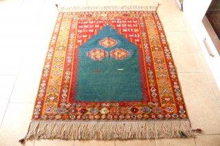 コレクション  草木染 村で織られた一点もの コンヤ  世界に一つ 147x128cm