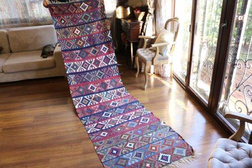 マラティアアンティーク アルメニア人による手仕事 文化省による診断済品 約269cm x78cm