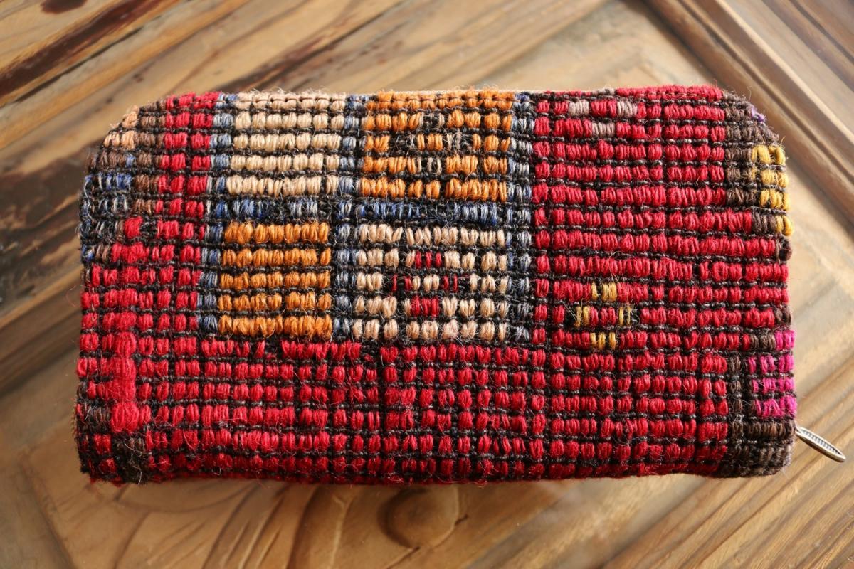 オールドキリム 長財布 #15 - anatolian concept 手織敷物のセレクトショップ
