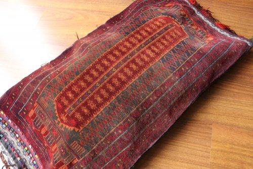 Collection 驚くほど細かな織り バルーチ族ヤストゥック 約95x50cm