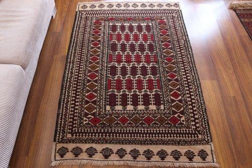 可愛いアフガンキリム 約182x122cm