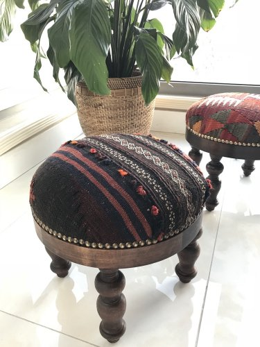 キリム家具 オットマン バルーチ