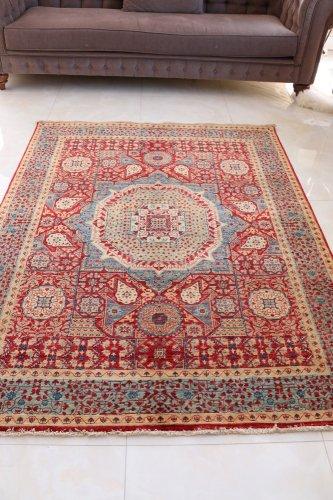 マムルーク絨毯 190x154cm