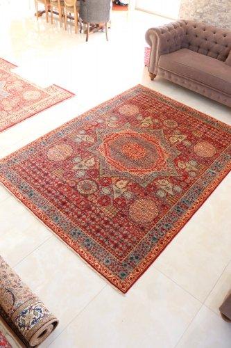 マムルーク絨毯 252x184cm