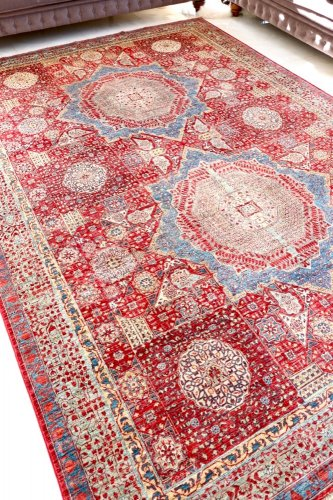 マムルーク絨毯 346x242cm