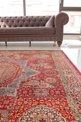 マムルーク絨毯 205x201cm<br>価格交渉可能です。