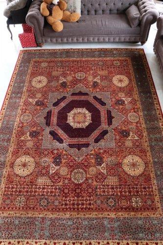 マムルーク絨毯 363x268cm<br>価格交渉可能です。