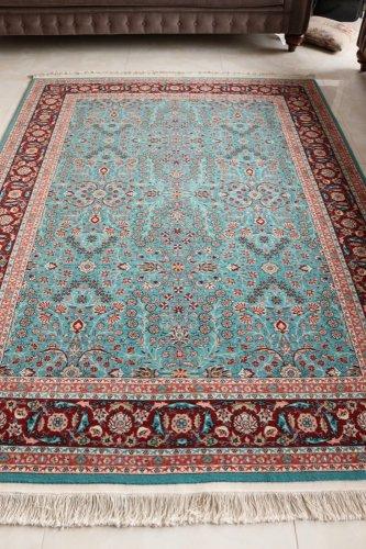 最高級ヘレケ絨毯 シュメル 七つの山の花  229x172cm