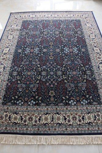 最高級ヘレケ絨毯  七つの山の花  248x182cm