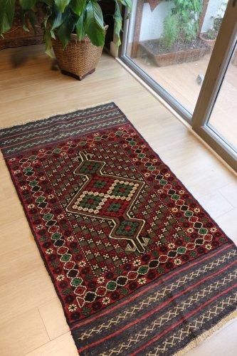バルーチ族の絨毯 約155x88cm