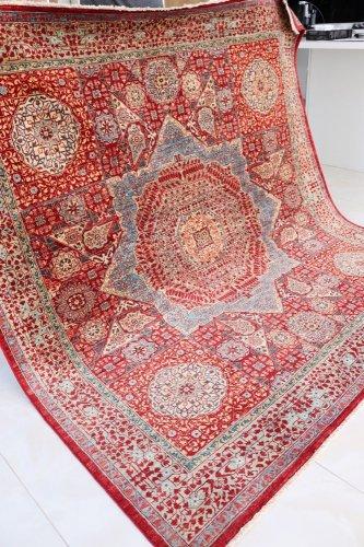 (ご予約品)マムルーク絨毯 197x192cm
