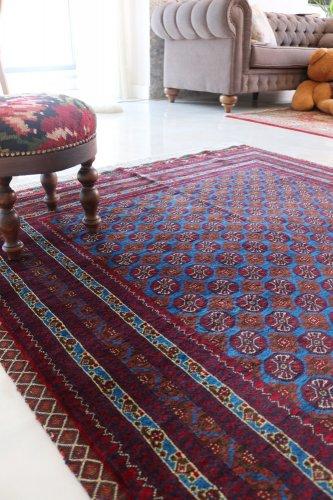 (割引対象外)アフガン最高級絨毯ホジャロシュナイ キリムフレーム